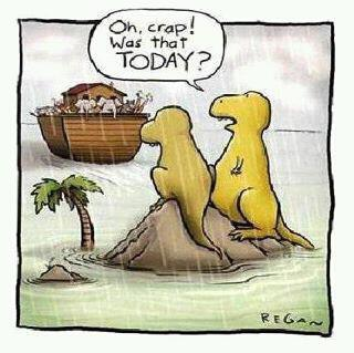 dinosaurs and ark