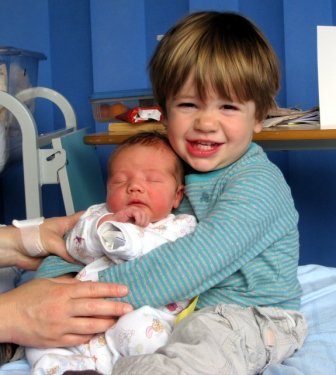 Gorgeous Grandson and Baby bro