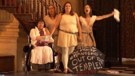 Occupy faith St Paul's
